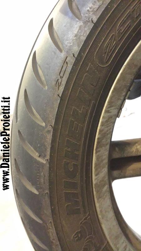 Ruota Posteriore Michelin