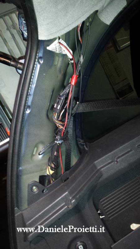smontaggio auto interno