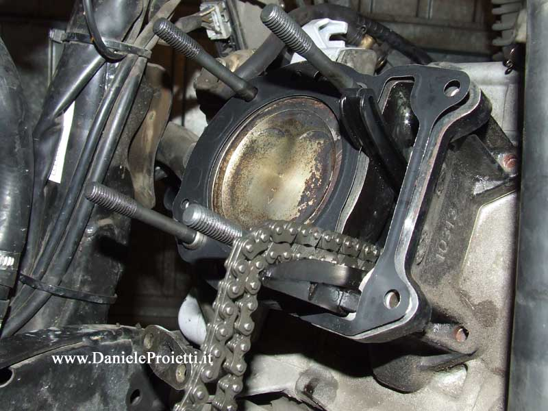 Schema Elettrico Honda Sh 300 : Sostituzione guarnizione testata honda sh tutto su